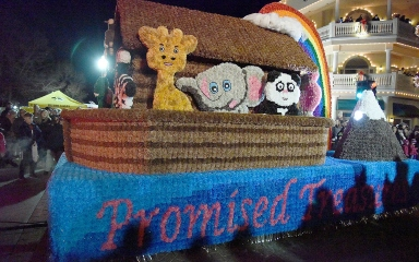 Promised Tresures parade float