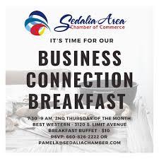 Sedalia Area Chamber of Commerce July Breakfast